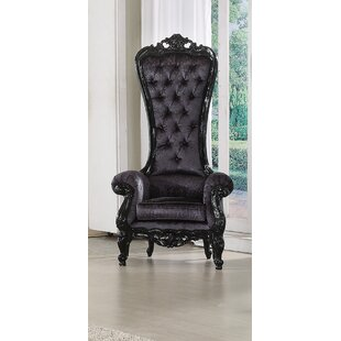 A&J Homes Studio Raven Royal Chesterfield Chair