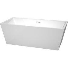 "Sara 67"" x 31.5"" Soaking Bathtub"