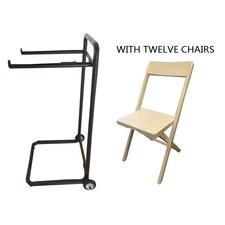 13 Piece Standard Flat Side Chair by Symple Stuff