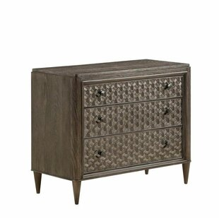 Gracie Oaks Hackney 3 Drawer Chest