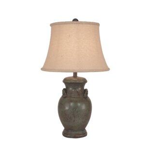 Hagopian Crock with Handles 28 Table Lamp