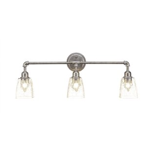 Read Reviews Guertin Vintage 3-Light Vanity Light By Williston Forge