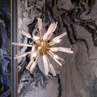 Wrought Studio Deangelo Florrie 6-Light Chandelier