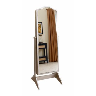 Rosdorf Park Auston Free Standing Jewelry Armoire with Mirror