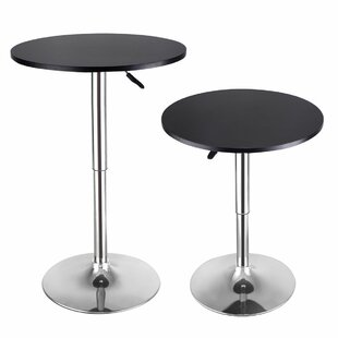 Adler 2 Piece Adjustable Pub Table Set by Ebern Designs