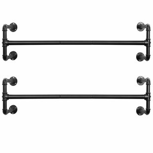 Durante Wall Mounted Coat Rack (Set Of 2) By Williston Forge