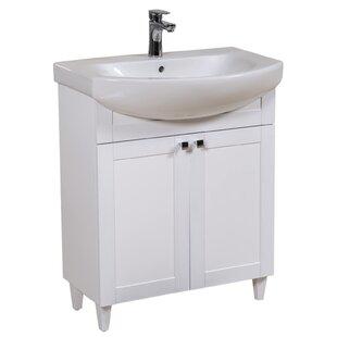 Laszlo 70mm Free-standing Single Vanity Unit By Belfry Bathroom