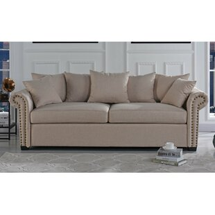 Dunnstown Classic Scroll Arm Standard Sofa