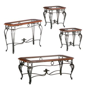 Troy 4 Piece Coffee Table Set by Wildon Home® #2