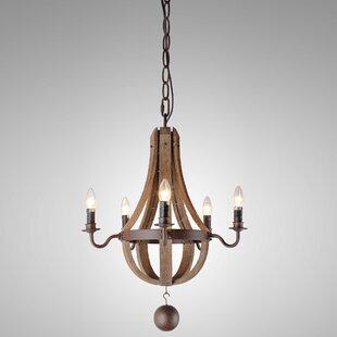 Brooklandville 5-Light Empire Chandelier by Gracie Oaks