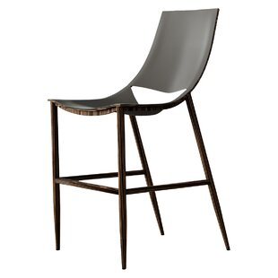 Sloan Bar Stool by Modloft Black