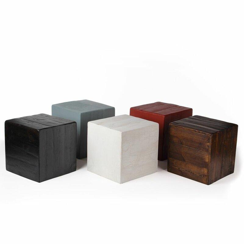 Attractive Berowalt Cube End Table