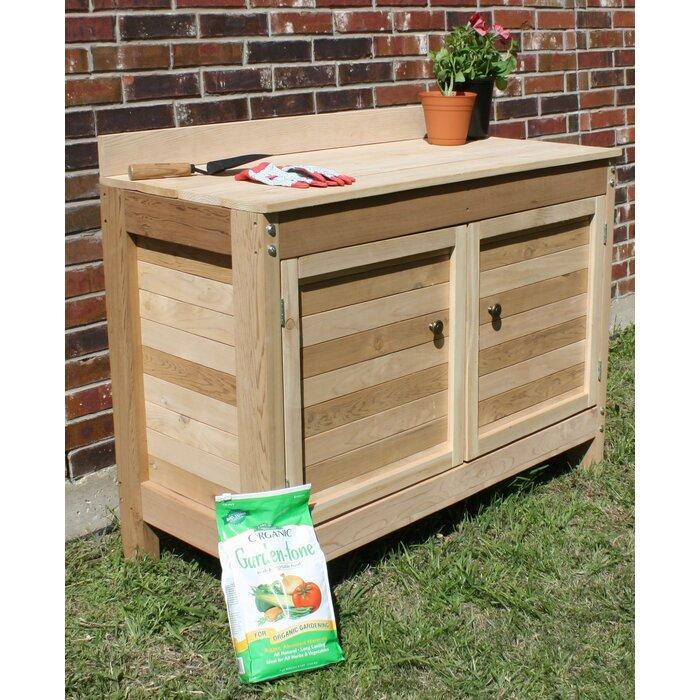 Premier Cedar Potting Bench
