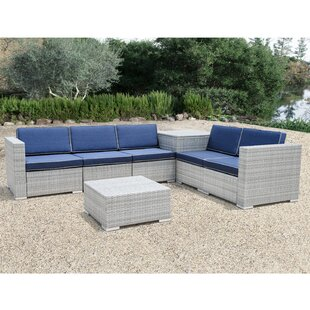 Caywood 7 Piece Sectional Set with Cushions