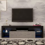 Cabery Floating TV Stand for TVs up to 70 by Orren Ellis