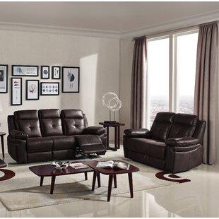 Samatha 2 Reclining Piece Living Room Set by