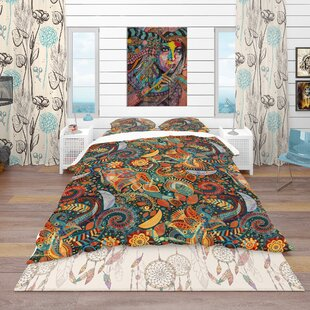 Bohemian and Eclectic Duvet Cover Set