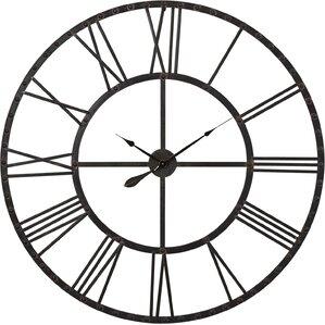 upton round oversized wall clock - Wall Clocks