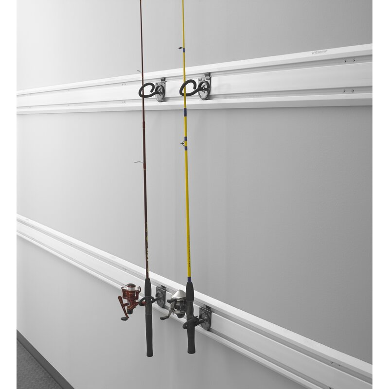 Gladiator Fishing Pole Holder Garage Hook Reviews Wayfair