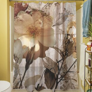 Inexpensive Gray Shower Curtain ByEast Urban Home