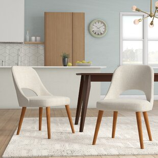 Berardi Upholstered Dining Chair (Set of 2) Langley Street