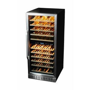 116 Bottle Dual Zone Convertible Wine Cellar by NewAir