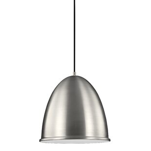 Brayden Studio Darrington 1-Light Bell Pendant
