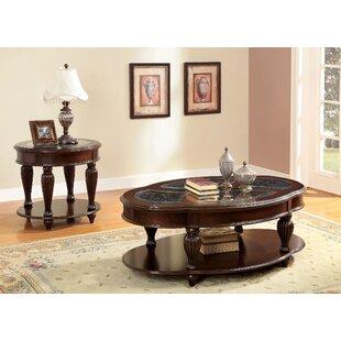 Rhuddlan Coffee Table Set by Astoria Grand