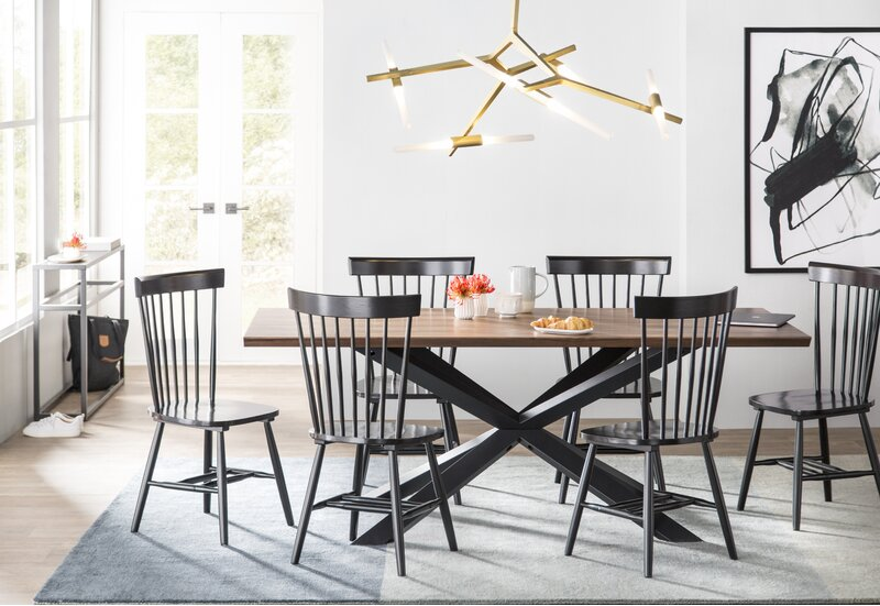 Teo Solid Wood Dining Chair
