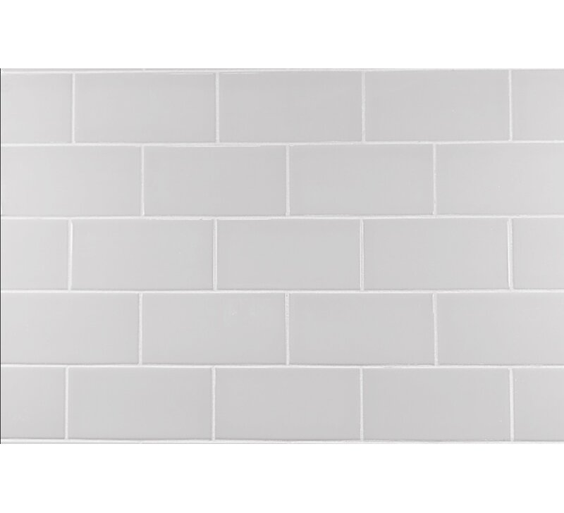Mulia Tile Classic 3 X 6 Ceramic Subway Tile In Warm Gray