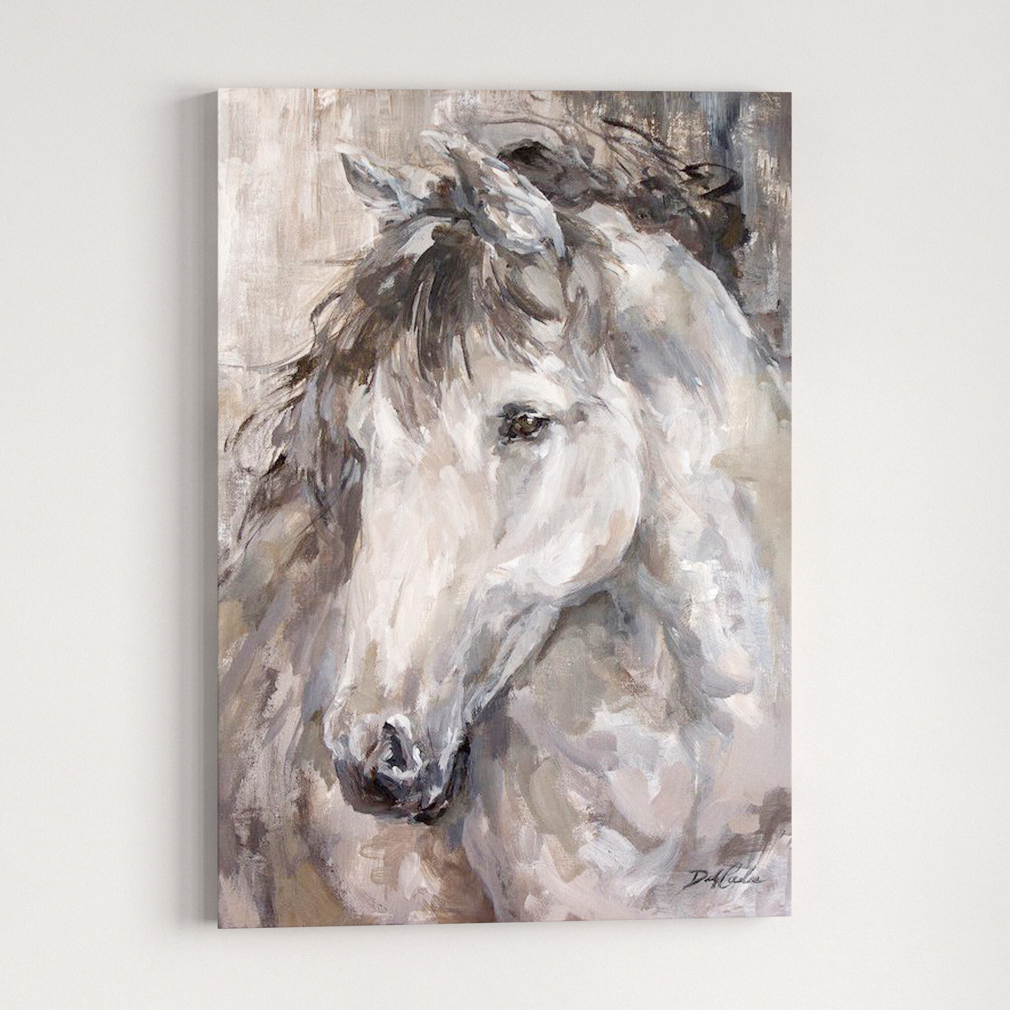 Horse Oil Painting Wall Art You Ll Love In 2020