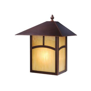 Loon Peak Joelle 1-Light Outdoor Flush Mount