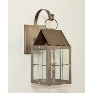 300 Series 1-Light Outdoor Wall Lantern By Brass Traditions Outdoor Lighting