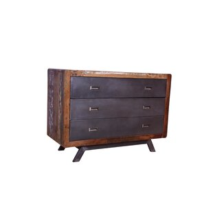 Read Reviews Mondale 3 Drawer Dresser by World Menagerie