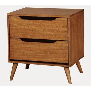 Goree 2 Drawer Nightstand by Mercury Row