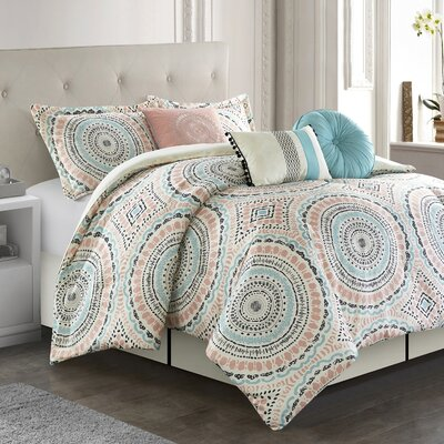 Zeppelin Comforter Set Bungalow Rose