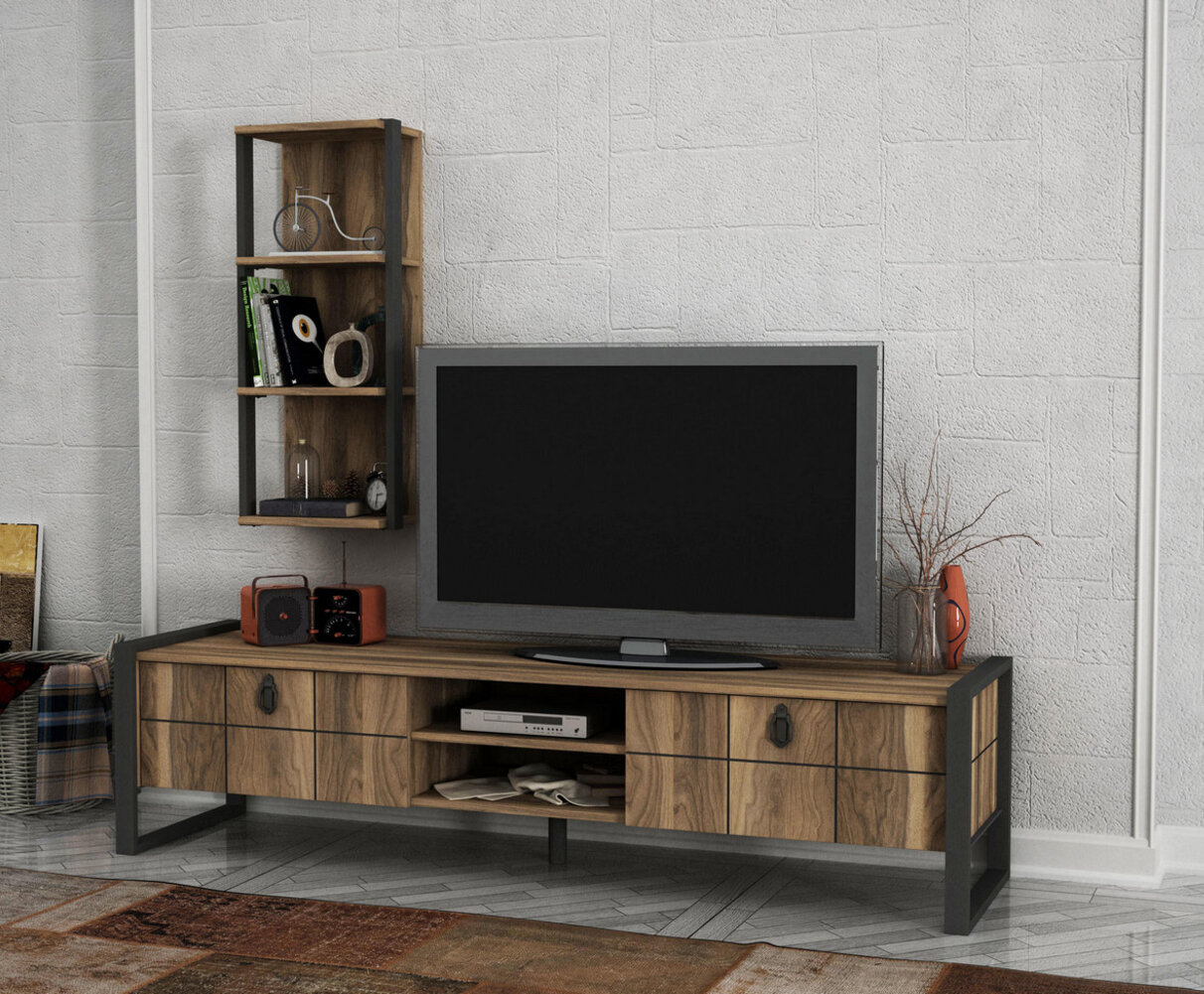 Union Rustic Solorio Tv Stand For Tvs Up To 78 Wayfair