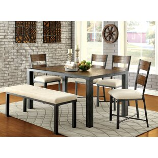 Gracie Oaks Balceta 6 Piece Dining Set