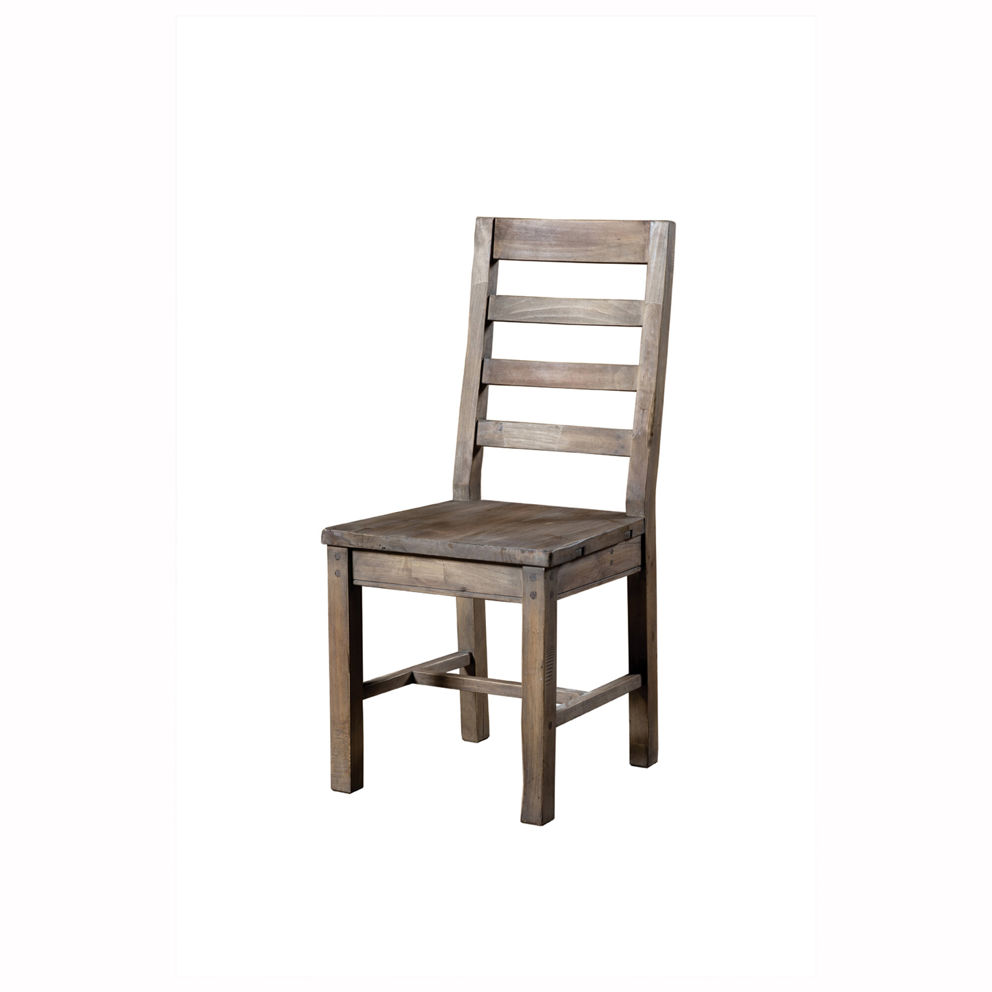 Selleck Solid Wood Ladder Back Side Chair In Brown Joss Main