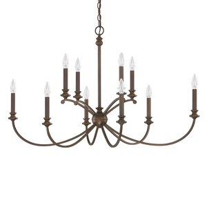 Alexander 10-Light Candle-Style Chandelier