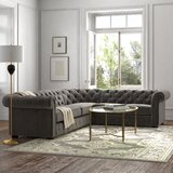 Alana 117'' Reversible Sectional by Kelly Clarkson Home