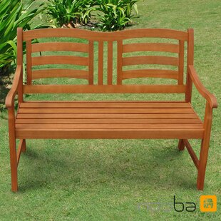 Izaguirre Wood Traditional Bench Image