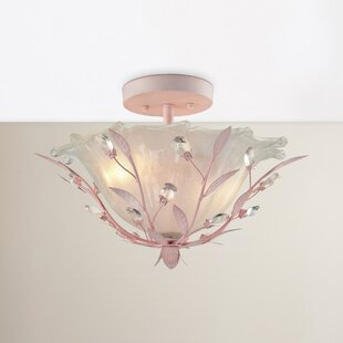 Find Dalia 2-Light Semi Flush Mount By Viv + Rae