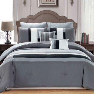 Orren Ellis Ainarkar 7 Piece Reversible Comforter Set