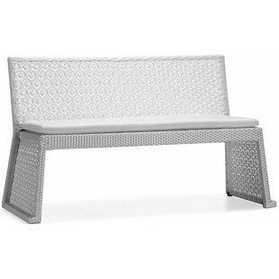 Palace Resin Wicker Dining Bench by 100 Essentials
