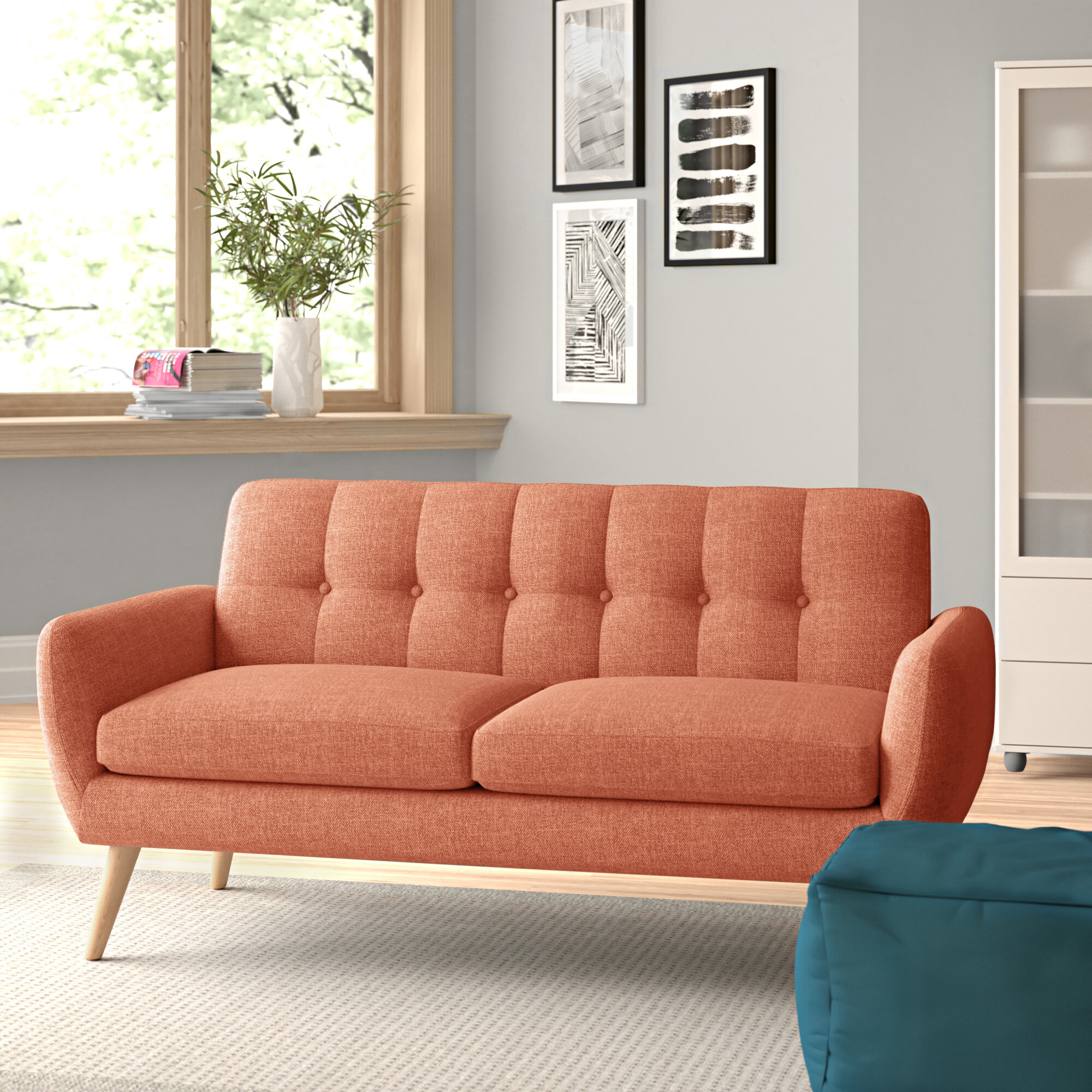 Loveseat Modern Contemporary Sofas You Ll Love In 2020 Wayfair