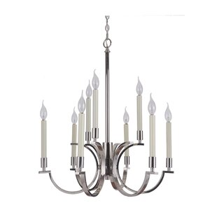 Darby Home Co Salford 9-Light Chandelier