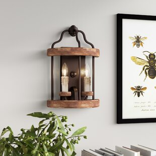 Read Reviews Elisabetta 2-Light Candle Wall Light By Laurel Foundry Modern Farmhouse