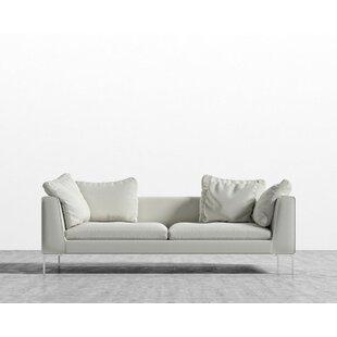 Everly Quinn Stone Standard Sofa