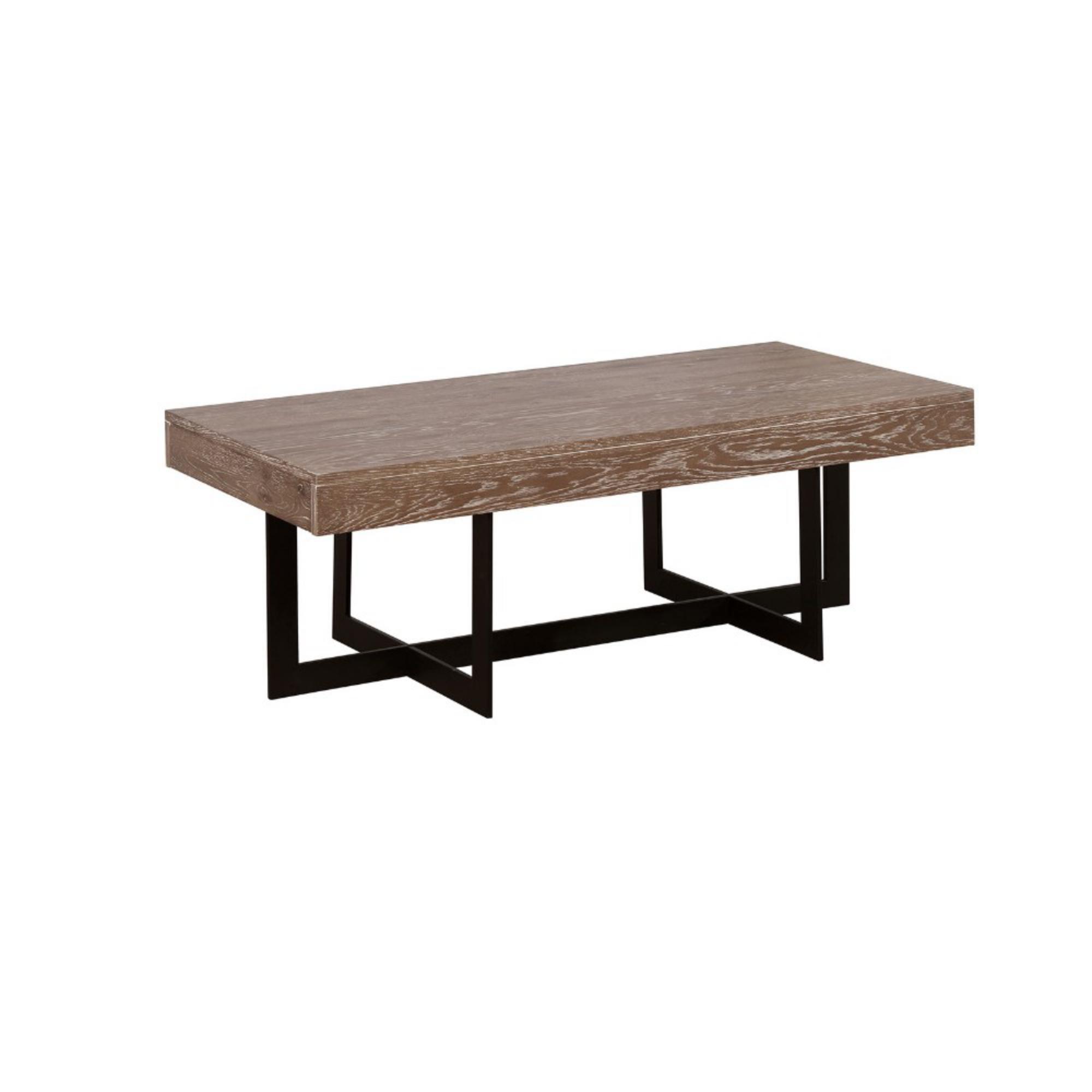17 Stories Gunnar Solid Wood Coffee Table Wayfair